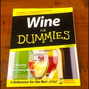 Wine for Dummies Book